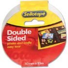 Sellotape Doublesided Tape 50Mmx33M 2294 (Pack of 3)